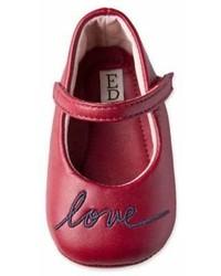 ED Ellen Degeneres Newborn Love Mary Jane In Red