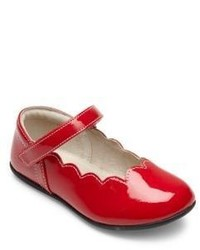 See Kai Run Toddlers Kids Scalloped Trim Patent Leather Mary Janes