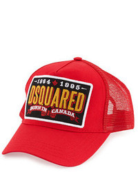 grosses soldes prix de la rue bébé Men's Red Baseball Caps by DSquared | Men's Fashion ...