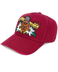 DSQUARED2 Born In Canada Embroidered Baseball Cap