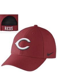 dd46481ff36 ... Nike Cincinnati Reds Dri Fit Classic Baseball Cap