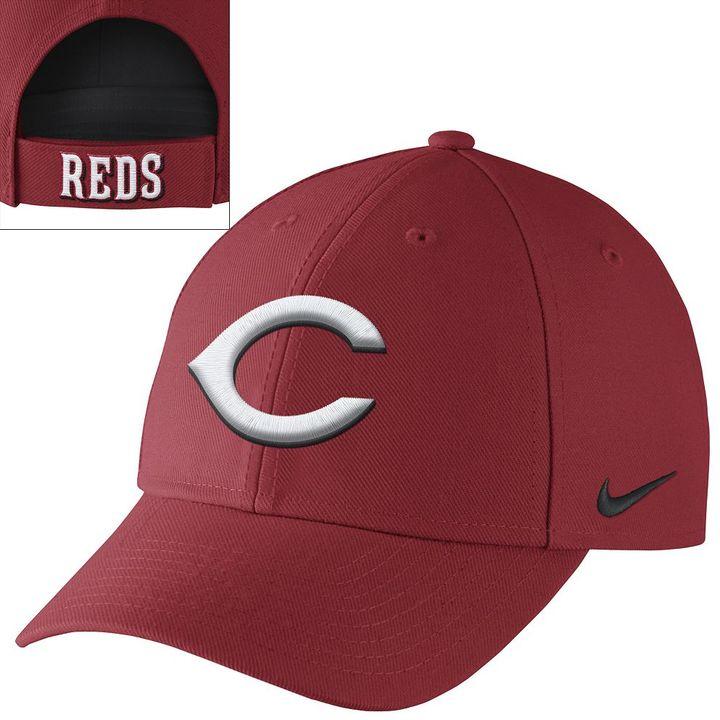 ... Nike Cincinnati Reds Dri Fit Classic Baseball Cap ... 5596365c92e