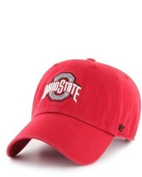 '47 Clean Up Ohio State Baseball Cap Red