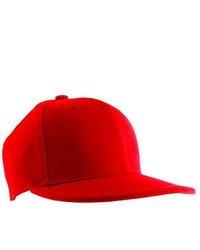 H2W Red Canvas Baseball Cap