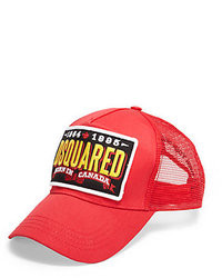 4eabc831414f DSquared 2 Red Logo Patch Baseball Cap Out of stock · DSquared Mesh Back  Baseball Cap