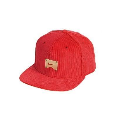 ... Nike Hats Nike Snapback Corduroy Baseball Cap Red 62382e4ba36