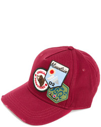 DSQUARED2 Patches Baseball Cap