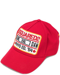 95efdd1be Men's Red Baseball Caps by DSQUARED2   Men's Fashion   Lookastic.com