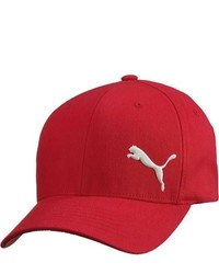 Puma Teamsport Formation Snapback Cap Red Hats