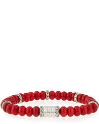 Batu bedeg coral beaded bracelet medium 610694