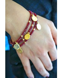 Evelyn Knight Ruby Bracelet