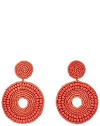 Kenneth Jay Lane Beaded Drop Earrings