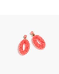 Beaded oval earrings medium 3704370