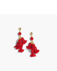 Beaded tassel chandelier earrings medium 5171602