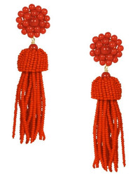 Lisi Lerch Red Tassel Earrings