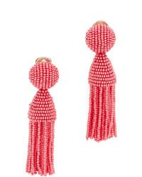 Short beaded tassel earrings medium 633743