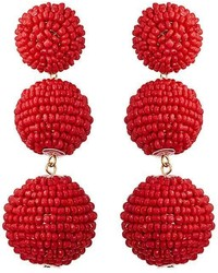 Kenneth Jay Lane Sphere Drop Earrings