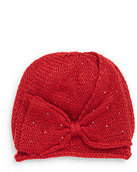 San Diego Hat Company Beaded Bow Beanie