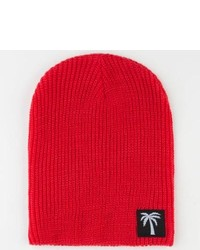 BLVD Supply Slim Beanie Red One Size For 221903300
