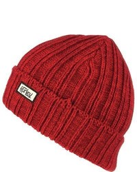 Hurley Canvas Original Beanie Team Red One Size