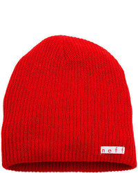 Neff Daily Beanie Red One Size