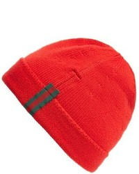 Gucci Wool Beanie Red