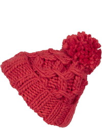 Hand Knit Chain Beanie
