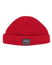 VERSACE JEANS COUTURE Logo Patch Knitted Beanie