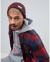 Vans Mini Patch Beanie In Red Va2x2z4qu