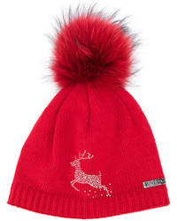 Norton racoon fur pom pom hat medium 5374834
