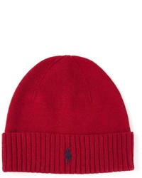 Ribbed logo beanie medium 135568