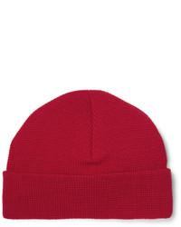 Textured merino wool beanie medium 3759698