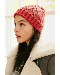 UO Cable Fitted Beanie