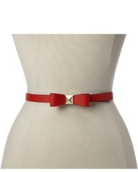 Kate Spade New York Skinny Pyramid Bow Belt Belt