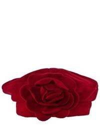 Kate Mack Biscotti Red Felt Beret