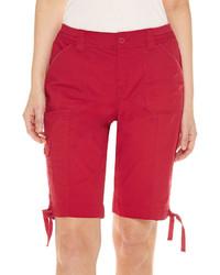 St johns bay st johns bay cargo woven 11 bermuda shorts medium 3727624