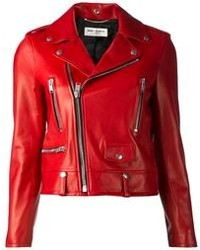 Red biker jacket original 8877035