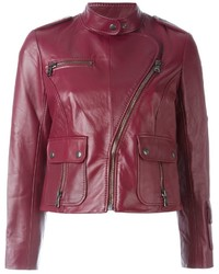 Marc Jacobs Cropped Biker Jacket