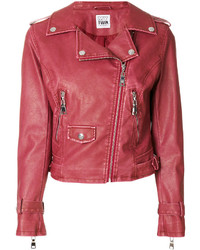 Twin-Set Zip Up Biker Jacket