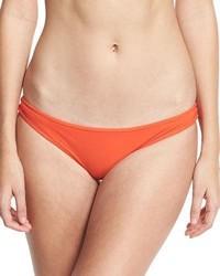 Diane von Furstenberg Classic Bikini Swim Bikini Bottom Red