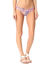 Red Carter Positano Hipster Bikini Bottoms