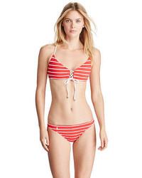 Polo Ralph Lauren Striped Hipster Bikini Bottom