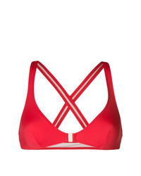 Solid & Striped Criss Cross Back Bikini Top