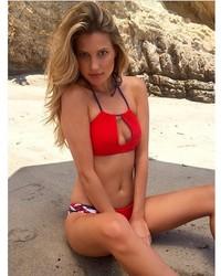 Frankie's Bikinis July Top In Red