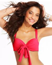 CoCo Reef Solid Convertible Five Way Bikini Top Swimsuit