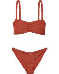 Hunza G Trina Seersucker Bikini