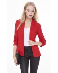 Express 24 Inch Textured Knit Blazer