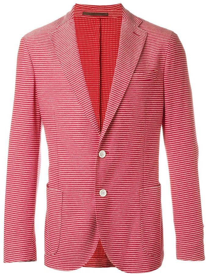 2018 Newest Wholesale Price For Sale Eleventy striped blazer Inexpensive Cheap Price Super Specials cnqWBS