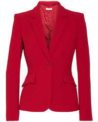 Gromwell crepe blazer crimson medium 3778311