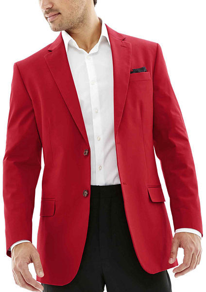 Red Sport Coat Blazer